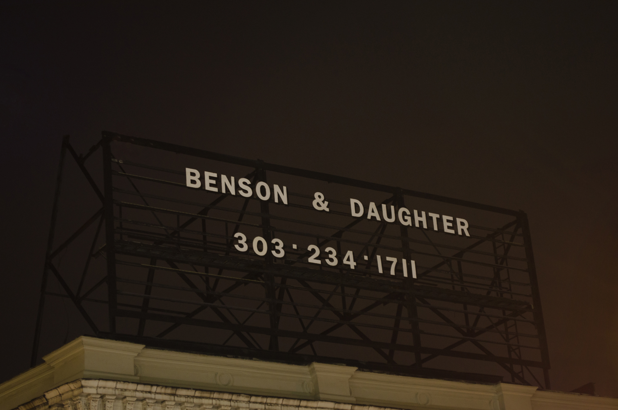 Benson & Daughter