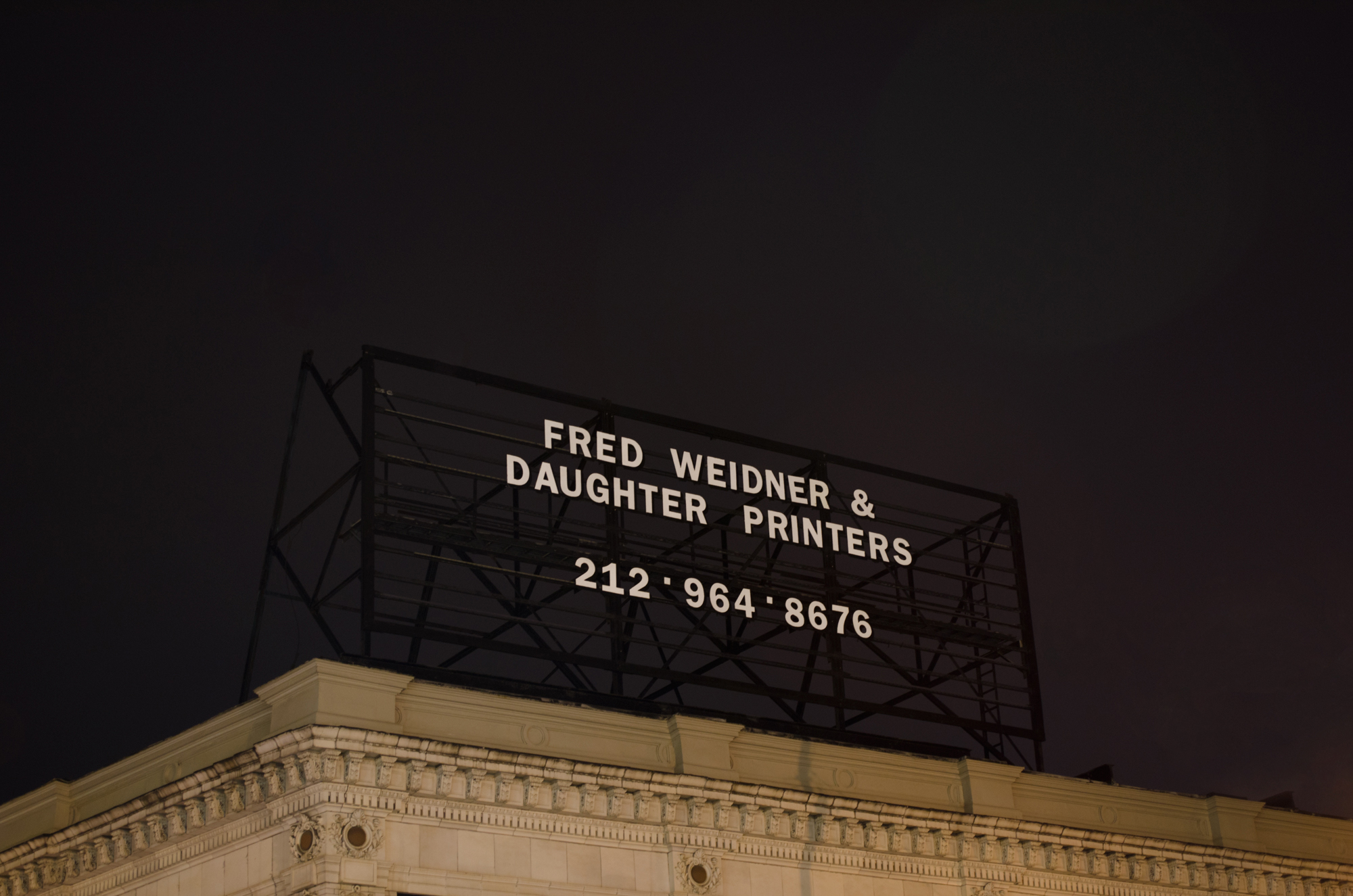 Fred Weidner & Daughter Printers